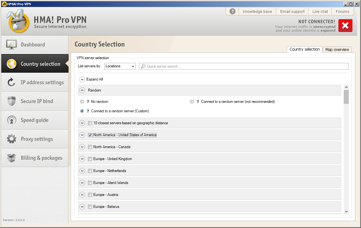 Country VPN IP